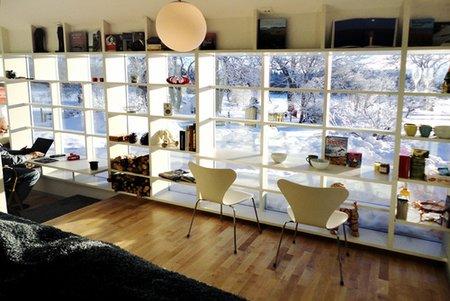 Pracownia i gabinet, jak zaaranżować, jak urządzić, artystyczna, malarska, loft, duża przestrzeń, atelier, workshop, design, styl skandynawski,