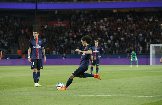 PSG 2 x 2 Bordeaux - Campeonato Francês(Liga 1) 2015/16