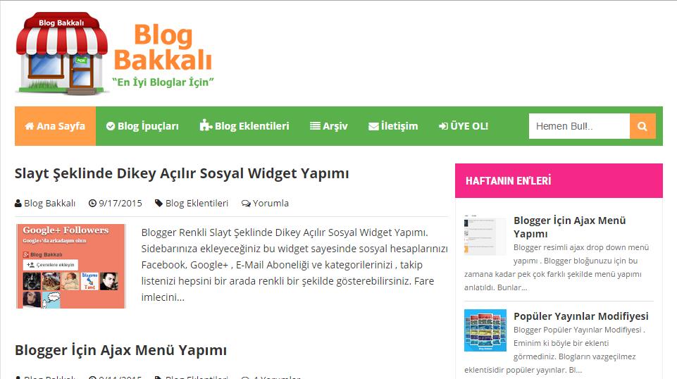 blog bakkal