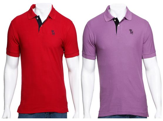Latest online deals in india abercrombie fitch polo t for Polo t shirts india