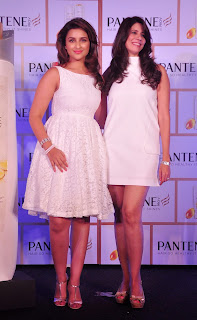 Parineeti Chopra Pictures in White Short Dress at Pantene Proof Over Promises Campaign Launch  21.JPG
