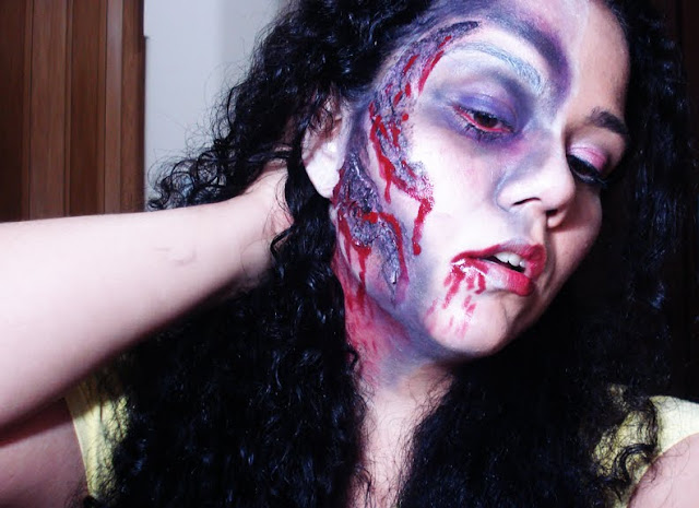 Tutorial Maquiagem Zumbi, zombie walk