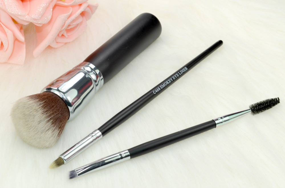 Crownbrush C439, C468 + SS025 Makeup Brush Reviews