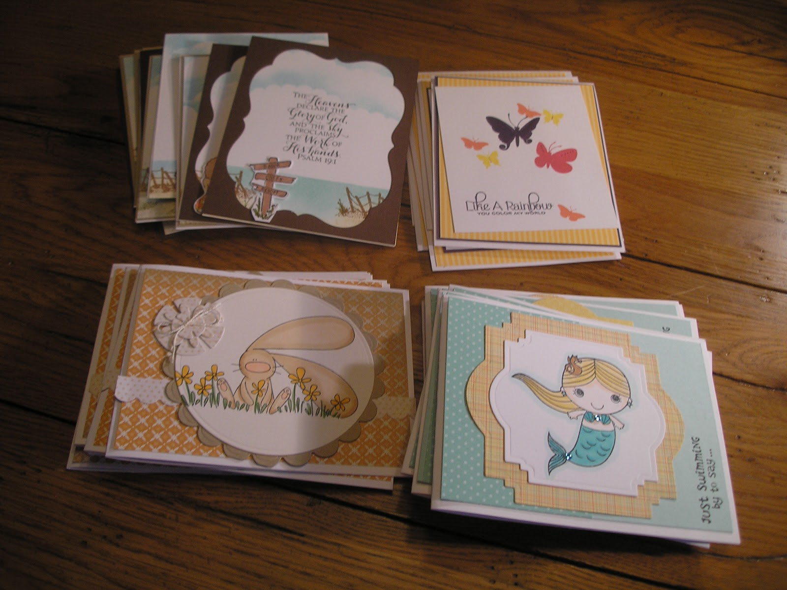 Stampin in the suburbs cards for soldiers i guess the commissaries overseas have a pretty limited selection of greeting cards so they love the beautiful handmade cards that arrive in the mail m4hsunfo
