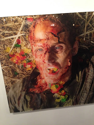 Norman Reedus photography exhibition in Los Angeles. Death by gummy bears.