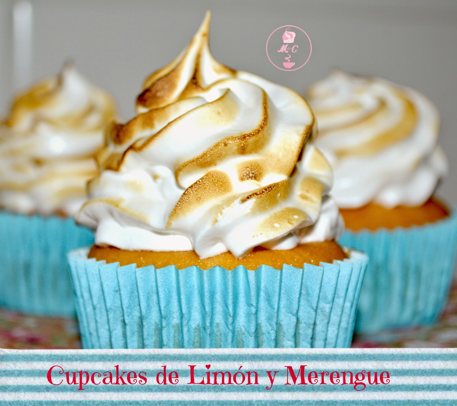 cupcakes de meregue