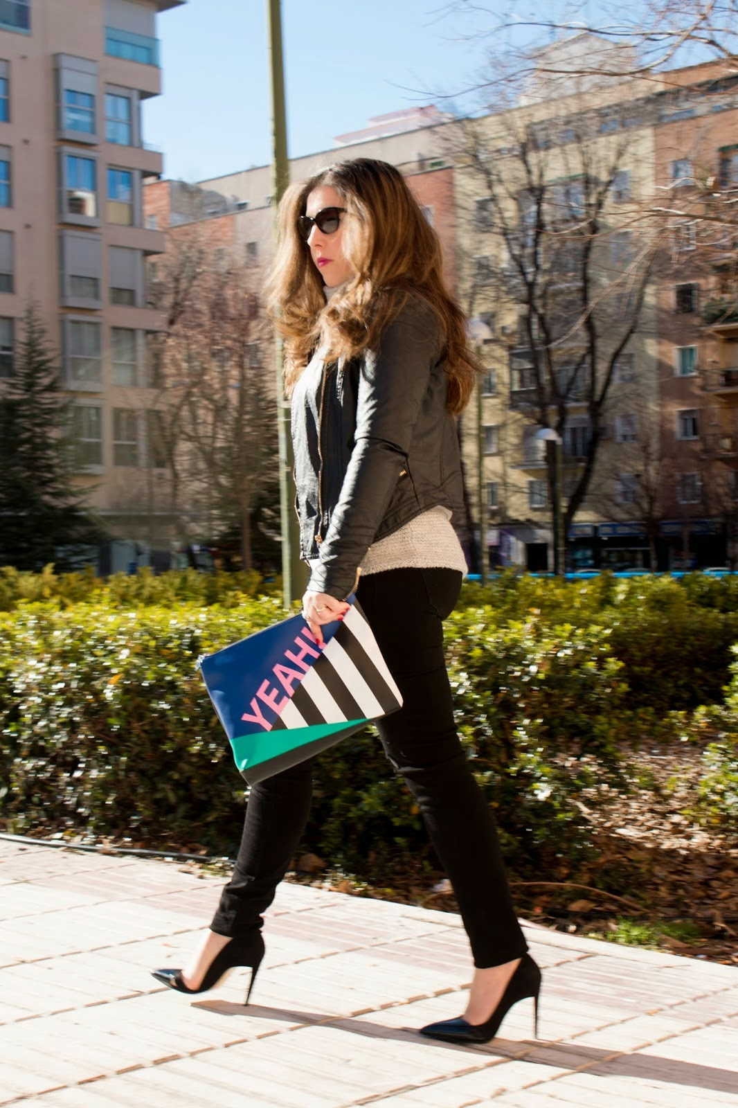 Esencia Trendy Look Blogger Blog Style Outfit Jeans Zara