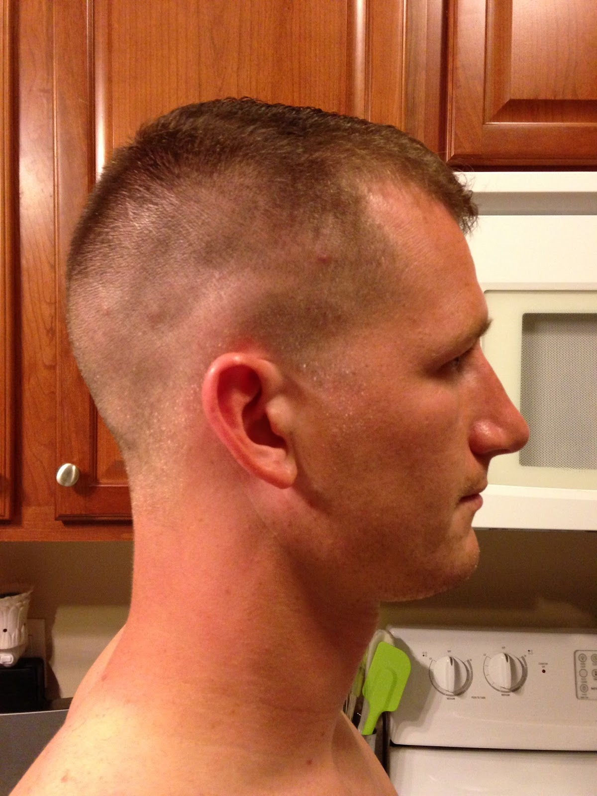 High and tight keep calm and soldier on right side fade urmus Images