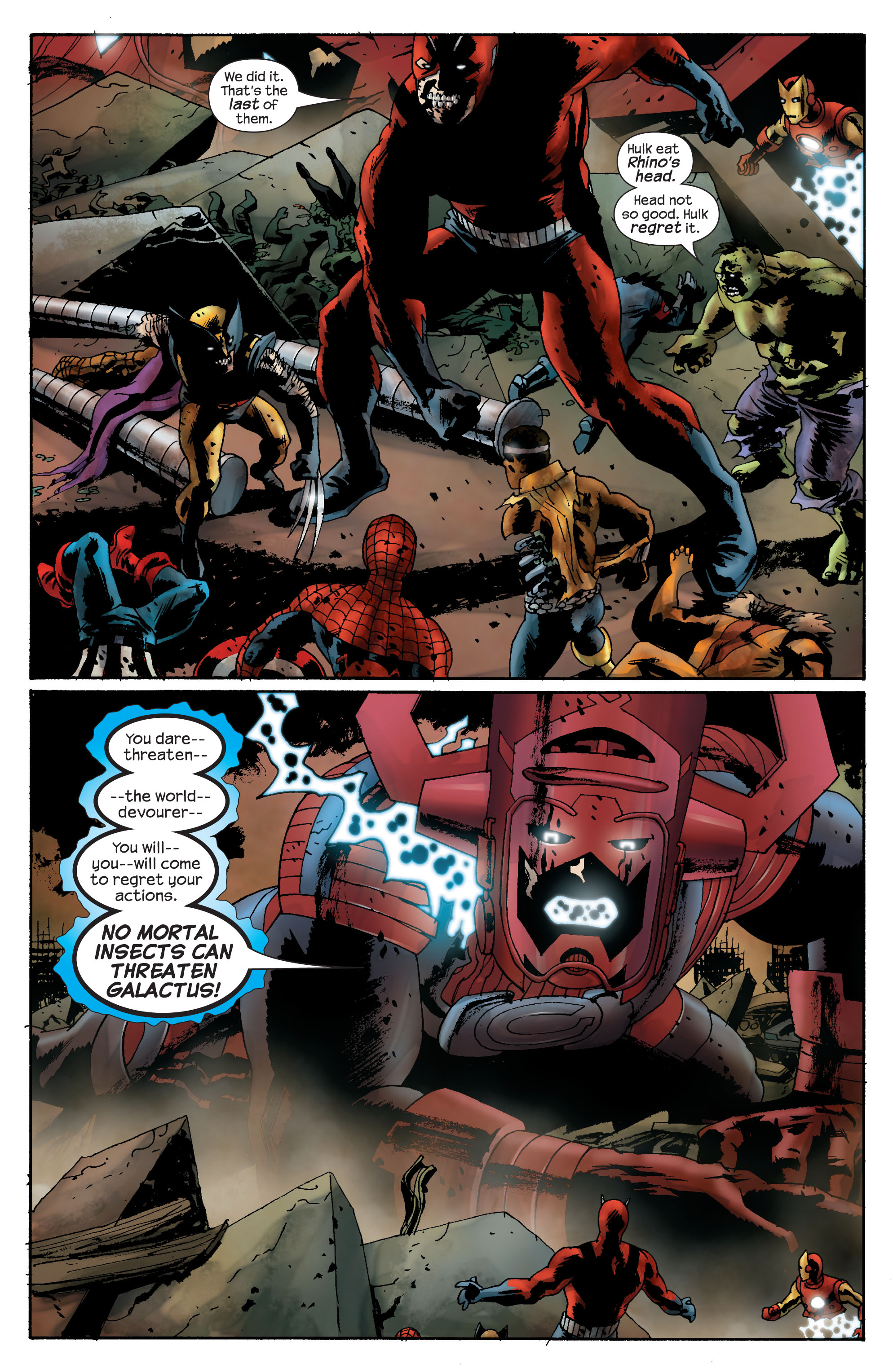 Marvel Zombies (2006) Issue #5 #5 - English 12