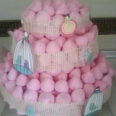 Colores de fiesta tarta de chuches tarta de chuches - Chuches para bautizo ...