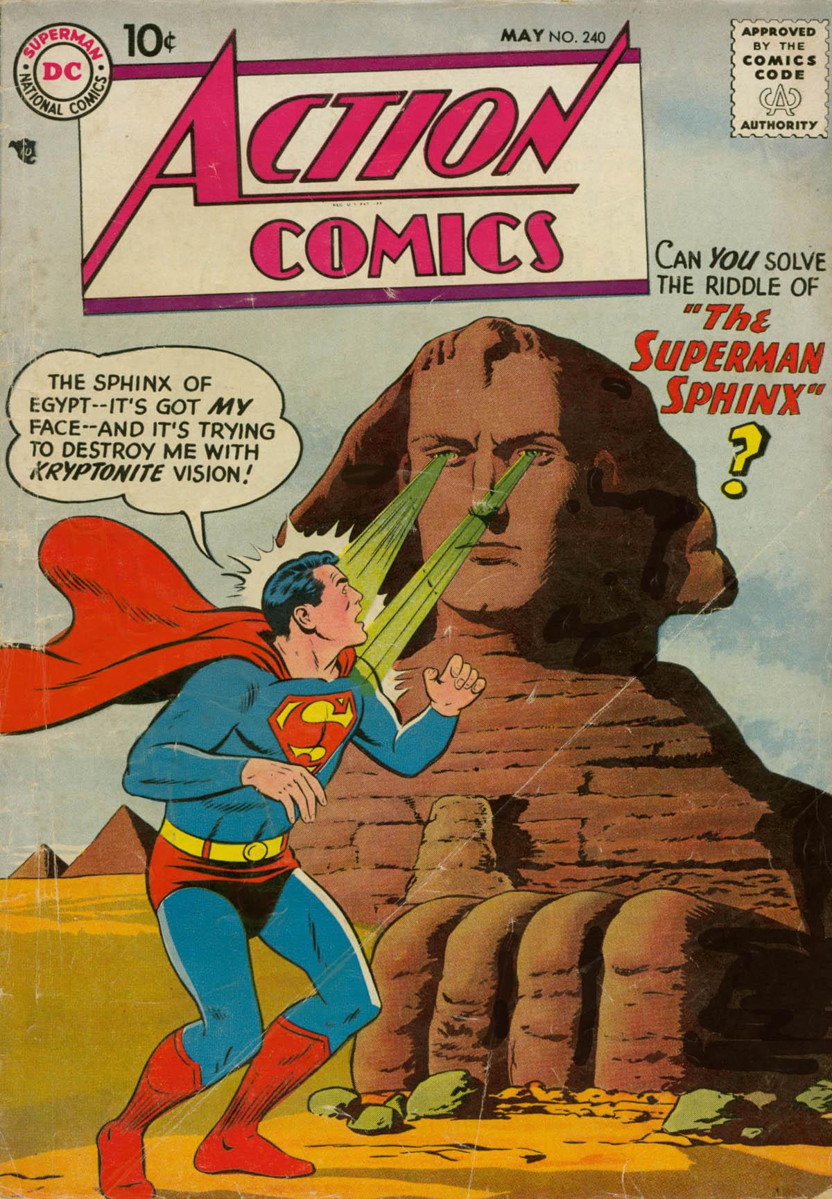 Action Comics (1938) 240 Page 1