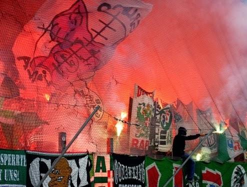 Ultras Rapid - Vienne