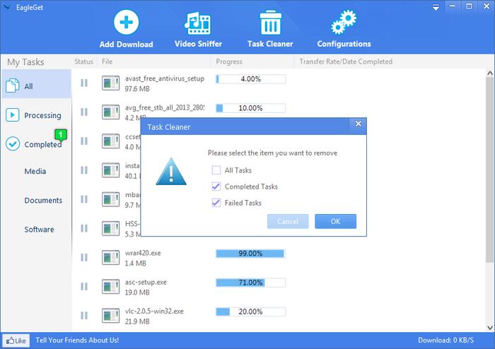 EagleGet is the best Internet Download Manager, but ...