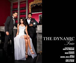 THE DYNAMIC TRIO - MODELZ MAGAZINE EDITORIAL