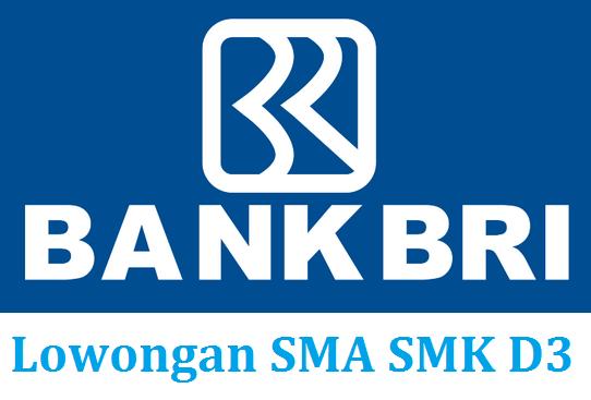 Lowongan Mei 2014 PT Bank BRI Tbk