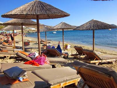 Agios Ioannis beach in Mykonos
