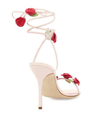 Manolo Blahnik Rose Heels