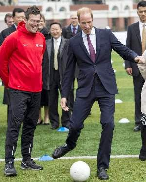 Prince William's Tour of China Continues