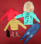 "OUTFIT from KYU - Dynamite Male Doll (12 inch)"" Doll"