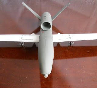 italeri 1:72 military drone rq-4 global hawk