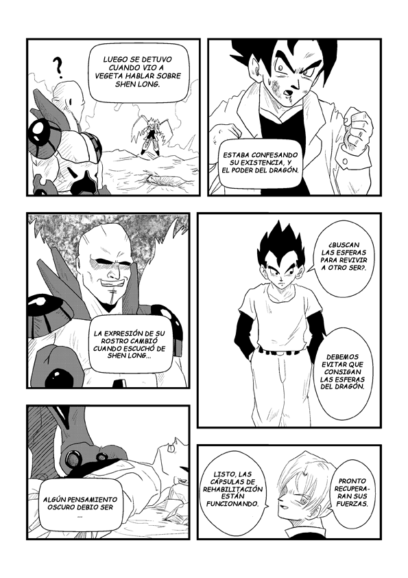 Dragon ball, y el regreso de goku