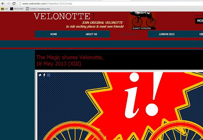 www.velonotte.com, new site of Velonotte International