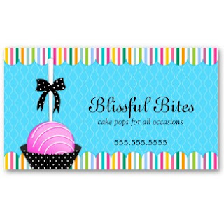 Business card showcase by socialite designs whimsical cake pops like the cute little cake pops with colorful sprinkles i decided to add lots of vibrant colors to this cake pops business card design colourmoves