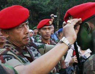 pesan Danjen Kopasus semangat indonesia baru