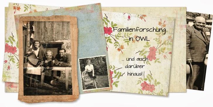 Familiengeschichte(n) aus Ostwestfalen - und darüber hinaus...