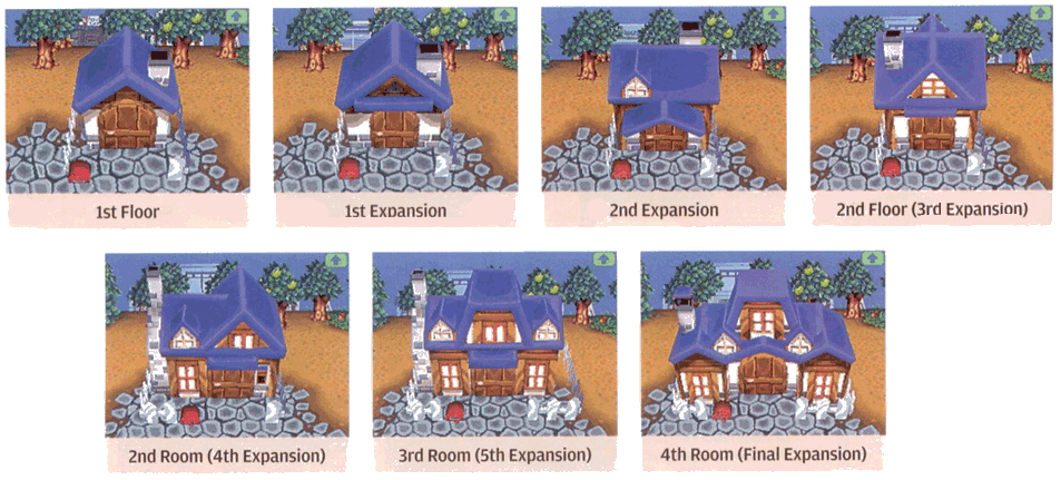 Animal Crossing Journal Expansions Houses