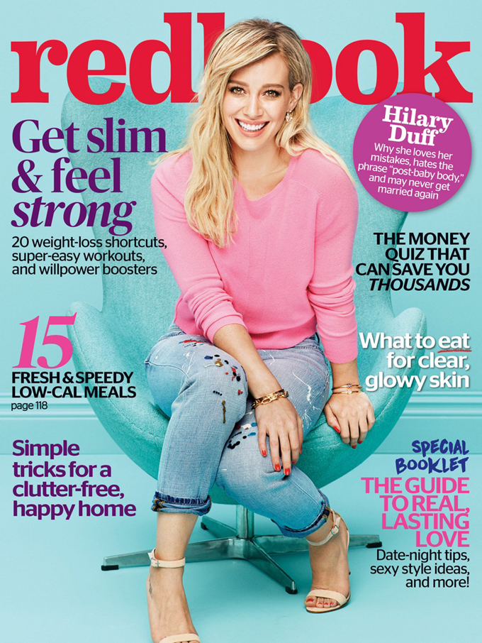 Hilary Duff in Redbook Magazine - Photo Hilary Duff 2016