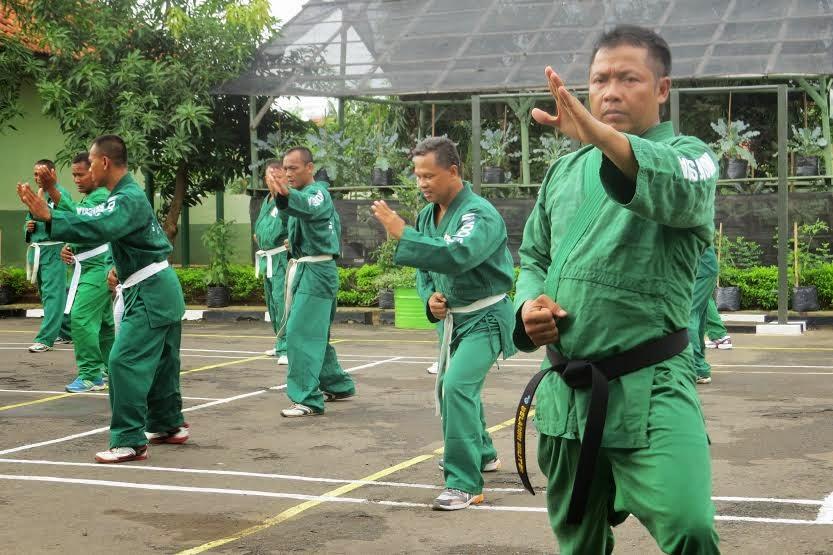 TNI Terus Asah Kemampuan Teknik Penguasaan Bela Diri Yongmoodo