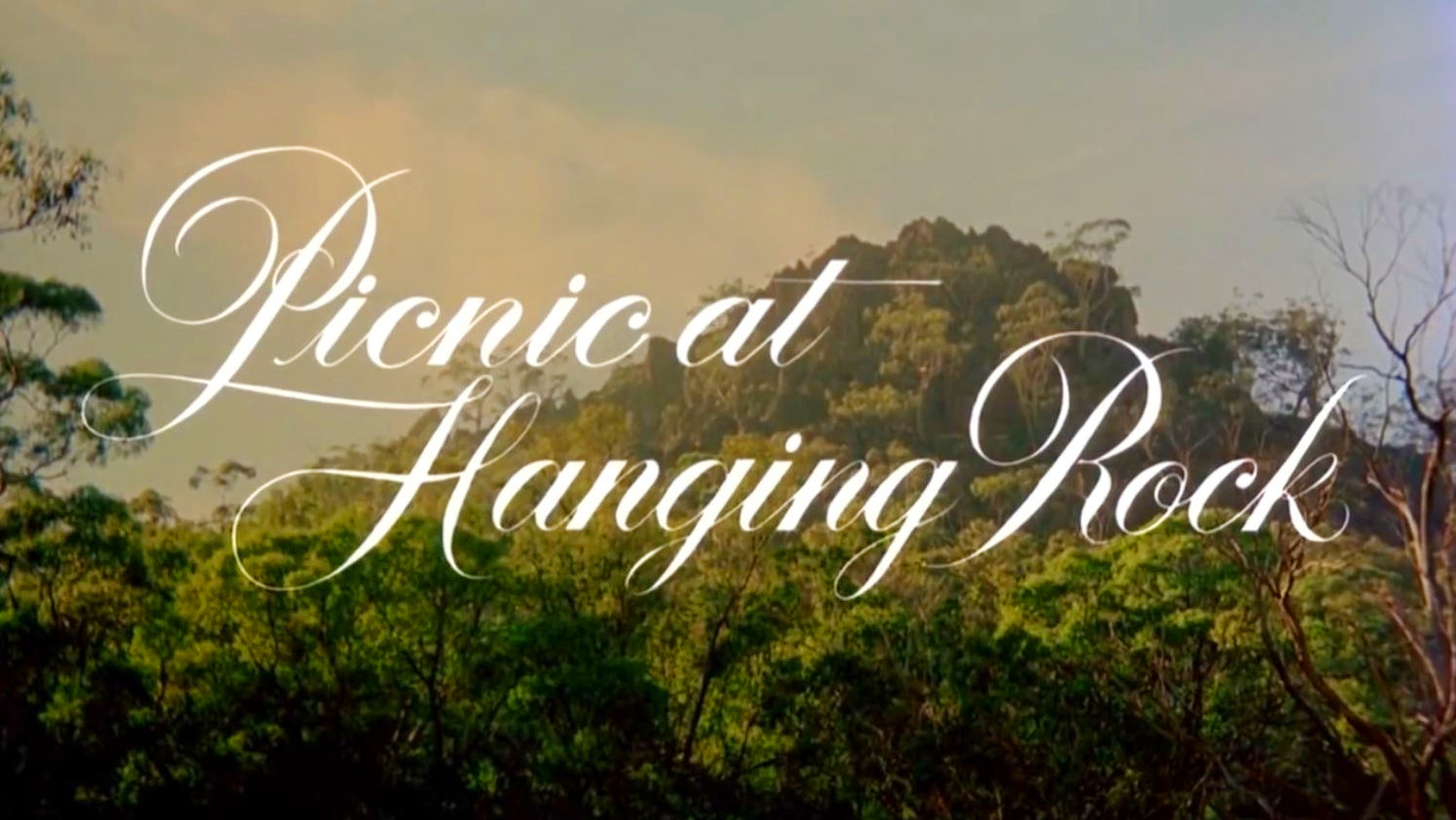 Picnic Hanging Rock Peter Weir Dreams  Le Cinema