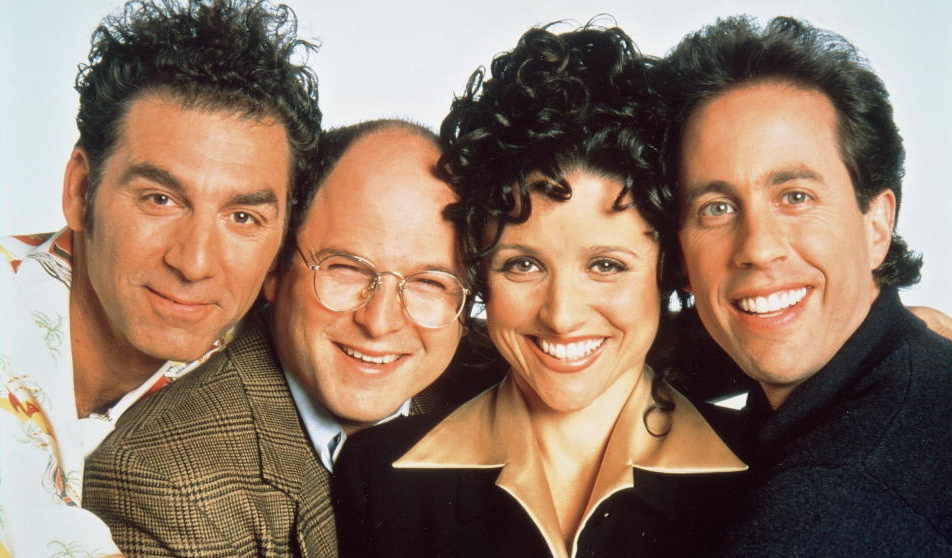 seinfeld offers several holiday inspired episodes including the one where kramer helps elaine snap a photo for her christmas card the one where kramer