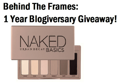 Behind the Frames First Giveaway!