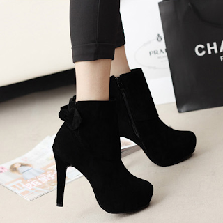 Get High on Boots for a Striking Appearance - Ankle LengthBoots for women