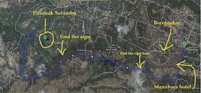 Route of Punthuk Setumbu