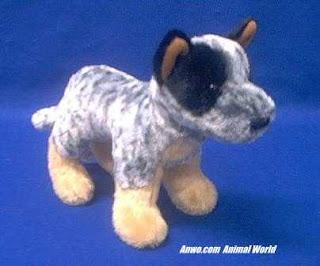 Clanger Australian Cattledog 8 by Douglas Cuddle Toys by Douglas Peluche