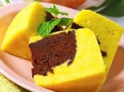 Cake Coklat Krim Keju