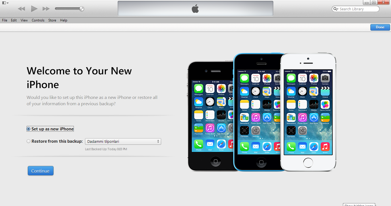 Start Manual Backup Your Iphone Contents To Yourputer 9 After Backup, Open  Your Iphone And Itunes With Unlock Message