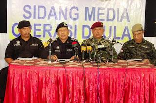 OP DAULAT: SIDANG MEDIA - 10 MAC 2013 (5.30PM)