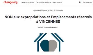 La pétition DANGER EXPRO