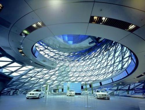 The Deconstructivism Bmw Central Building