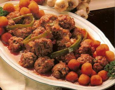 Las albondigas en Aragua es un plato super exquisito....