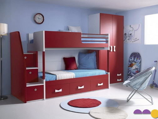 10 jolis mod les de 2 ou 4 lits superpos s pour enfants et. Black Bedroom Furniture Sets. Home Design Ideas