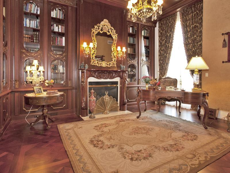 old world gothic and victorian interior design