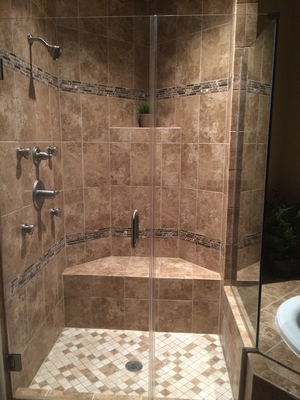 Our First Nvhome The Townhouse Edition Frameless Shower Anyone