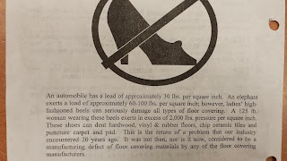 No Heels on Any Hardwood Floor