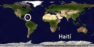 Haití (planisferio)