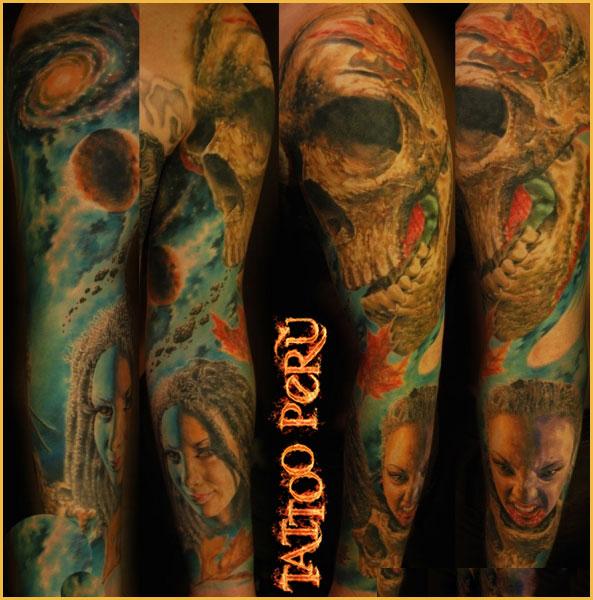 Tatuajes: Historia de los Tatuajes. Craneos_con_detalles